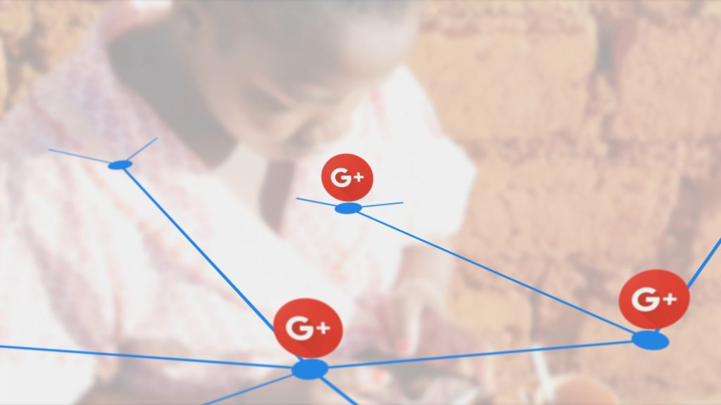 African stock video animation of connecting google+ plus dots with black  woman using smartphone – Africa Rising - Stock video for Africa