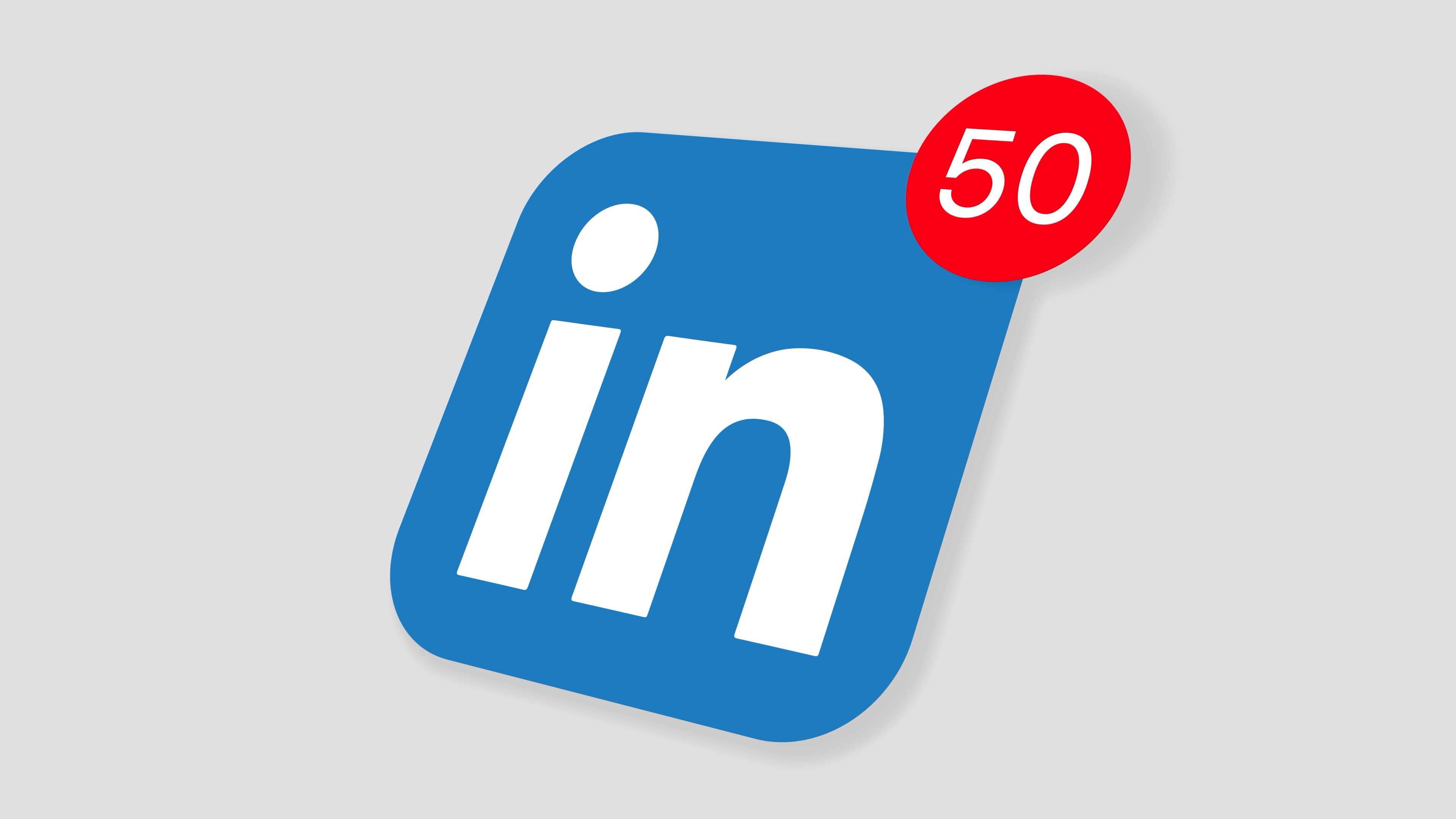 Stock Video Animation Of Linkedin Social Media Website Logo App Icon Popup Notification Message Africa Rising Stock Video For Africa